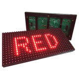 Im Freien einzelne Farben-hohe Helligkeit P10 LED-Bildschirmanzeige
