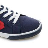 2017 Nueva Estrella de la moda casual hombres Zapatos de lona