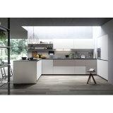 真新しい現代デザイン白い社会的な多機能の食器棚