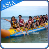 Barco de plátano inflable de la alta calidad, barco de plátano inflable del vuelo del agua