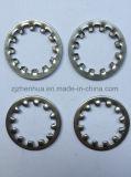 Rondelle de freinage dentée interne DIN6797 J (usine)