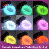 Fio de néon do EL da luz da corda da manufatura da alta qualidade