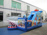 Trampolino gonfiabile Playland dello squalo