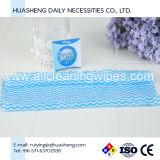 A cor azul toalha mágica comprimido