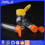 66ml Fles van het Kruid van 100ml de Transparante Plastic met Fles van de Schudbeker van het Poeder van het Kruid van de Tik Hoogste GLB In het groot Diverse