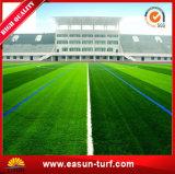 Il gioco del calcio artificiale mette in mostra il calcio della moquette del tappeto erboso
