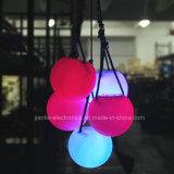 Bille multicolore de la lumière clignotante POI de DEL avec l'impression de logo (3560)
