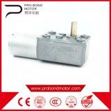 El gusano eléctrico DC Motor reductor de engranajes con par alto