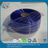 Niedrige Temperatur flexible freie blaue gewellte Belüftung-Vorhang-Glastür
