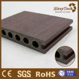 Piso compuesto de madera al aire libre WPC Co-Extrusion techado