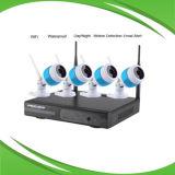 Cámara IP inalámbrica y sistema NVR con 1.0MP 720p
