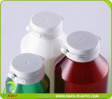 Бутылка любимчика янтарная пластичная для капсул