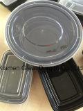 Contenedor de almacenamiento de alimentos de la bandeja del almuerzo microondas y lavavajillas (LB12008)