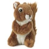 Het Stuk speelgoed van de Pluche van de Douane van de Eekhoorn van de pluche