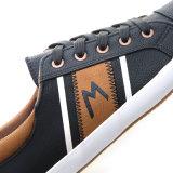 2017の新しいデザインズック靴の偶然の加硫させた人の履物
