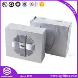 Caixa de presente de embalagem de luxo com grão de madeira