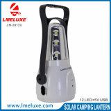 12 PCS 최고 밝은 LED 태양 손전등