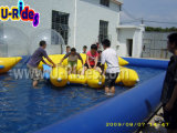 8m Squre piscina inflable