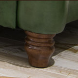 ホーム家具(AS848)のための米国式の現代本革のソファー