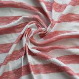 Baumwoll-/Rayon-/Spandex-Garn-Farben-Streifen-Gewebe für Kleidung