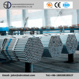 Tubos galvanizados de la estructura de acero del soldado enrollado en el ejército de la INMERSIÓN caliente para el material de construcción del invernadero