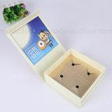 Rectángulos de regalo de papel de sellado calientes de la cartulina de la insignia para el bocado de la torta