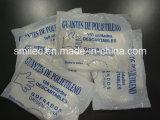 Устранимые пластичные PE перчаток/Guantes De Polietileno Desechable