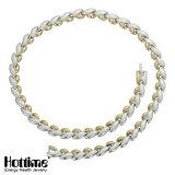 Magnetische Halsband van het Roestvrij staal van de manier de Elegante (70002)