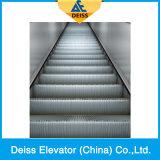 Transportador de passageiros automático confiável Escada rolante pública com passo de aço inoxidável