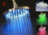 """6 """"정연한 높은 교류 Temperarure 통제 LED 가벼운 최고 샤워"""