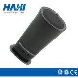 小型拡声器のためにステレオ多彩なライトが付いている黒い水晶シェル