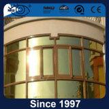 Aufbauender Glasfenster-Dekoration-Solarfilm