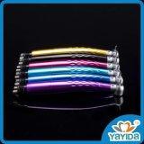 Handpiece à grande vitesse dentaire coloré avec l'éclairage LED de générateur