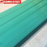 Galvanizado Pre-Painted Hoja de techos de cartón ondulado