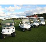 ゴルフバッグが付いているゴルフカート2seat