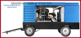 Compresseur d'air diesel portatif de Copco Liutech 1250cfm 30bar d'atlas pour l'exploitation