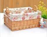 Eco-Friendly (BC-ST1024)를 가진 Handmade Wicker Storage Basket