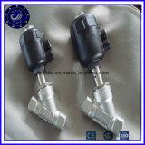Y schreiben Kolben-Winkel-Sitzventil des Edelstahl-316 pneumatisches mit Stellzylinder
