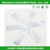 Flaches elektrisches Kabel weißes Zif Flachkabel
