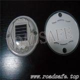 Vite prigioniera rotonda di plastica autoalimentata solare della strada del LED