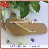 Zapatos de tacón de tacón plano