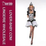 Mistress of The Dark Sexy Uniform Fantasy Dresses Costume (L15241-3)