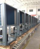Enregistrer70 % de la puissance de la Cop4.23 R410A 380V 19kw, 35kw, 70kw, sortie 105kw 60deg. C MSME Pompe à chaleur monobloc 12kw