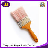 Escovas de pintura de nylon do punho de madeira