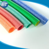 Venta de fábrica de mangueras de agua Jardín de PVC trenzado PVC las mangueras de aire con el Kit de accesorios