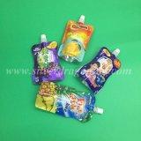 Раговорного жанра мешок Spout с полиэтиленовым пакетом для жидкости упаковки