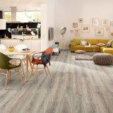 Surface en bois un revêtement de sol en vinyle pour salle de jeu