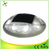 Parafuso prisioneiro solar de piscamento da estrada do diodo emissor de luz do plástico de 360 graus