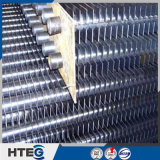 Ahorrador del tubo aletado del acero de carbón de la pieza de la caldera del precio de fábrica H