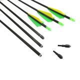aste cilindriche della freccia della vetroresina di 6mm